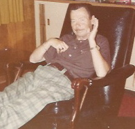My dad in 1977, the year he died.