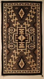 Navajo woven carpet